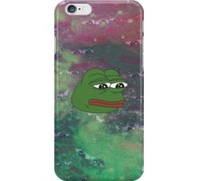 Rare Galaxy Pepe (Meme) iPhone Case/Skin