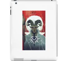 adaar tarot card iPad Case/Skin