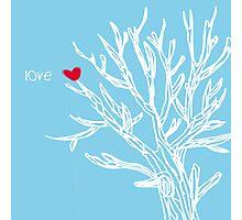 Love tree Photographic Print