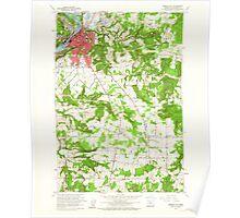 USGS Topo Map Oregon Oregon City 281001 1961 24000 Poster