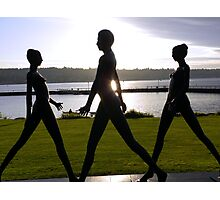 Coulon Walkers Photographic Print