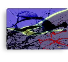 The fighter and his spirit Canvas Print