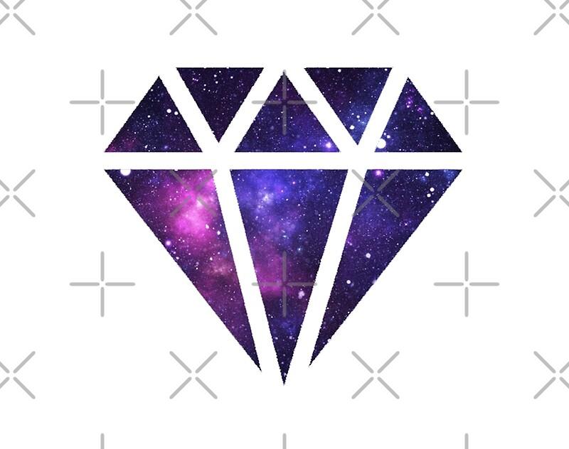 quotgalaxy diamondquot by kaylaphan redbubble
