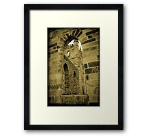 Old chapel at the the former Port Arthur Penal colony. Framed Print