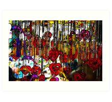 dangling bells Art Print