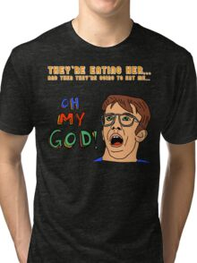 OH MY GOD!!!! Tri-blend T-Shirt