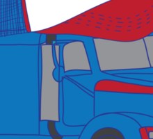 Trucker Hat Trucker Sticker