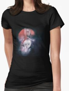 N7 - everywhere in the universe, they hurt little girls Womens Fitted T-Shirt