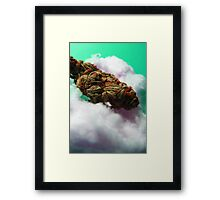 Cotton Candy Clouds. Framed Print