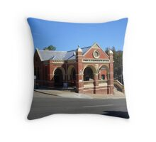 Omeo Post Office, Victoria Throw Pillow