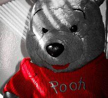 """Pooh Bear in Red"" by Harriet Brake"