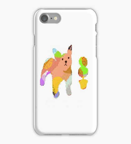 Bulldog and Topiary iPhone Case/Skin