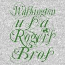 usa washington tshirt by rogers bros by usawashington