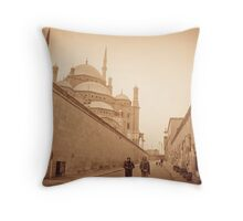 Mohamed Ali Mosque  Throw Pillow