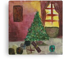 First Christmas for Frances Canvas Print