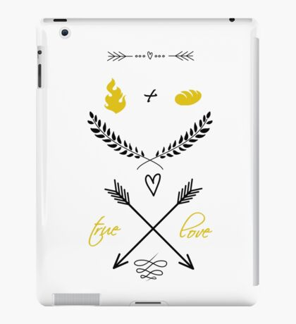 Fire + Bread = True Love iPad Case/Skin