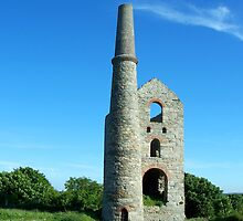 Steam Engine House, Cornwall (UK) by hootonles