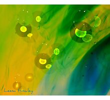 Abstract Oil and Water  Photographic Print