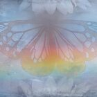 New Day by Emma  Wertheim~Blue Butterfly Art