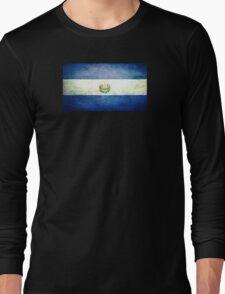El Salvador - Vintage Long Sleeve T-Shirt