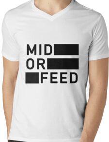 Mid Mens V-Neck T-Shirt
