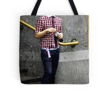 Cool red glasses Tote Bag