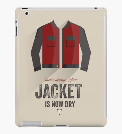 Cinema Obscura Series - Back to the future - Jacket iPad Case/Skin