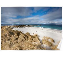 Scotland: Windswept Beach Poster