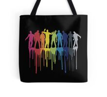 Rainbow Zombie Shuffle: Version One Tote Bag