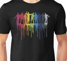 Rainbow Zombie Shuffle: Version One Unisex T-Shirt