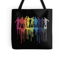 Rainbow Zombie Shuffle: Version Two Tote Bag