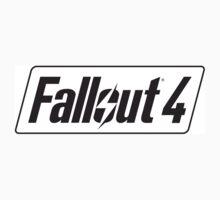 Fallout 4 logo Kids Tee