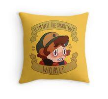 Not the Smart Guy Throw Pillow