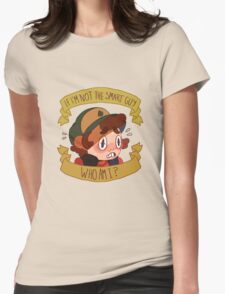 Not the Smart Guy Womens Fitted T-Shirt