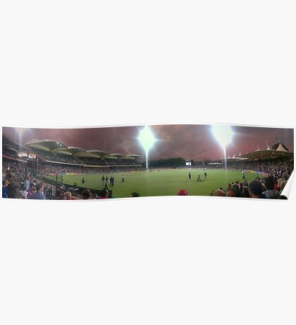 Redbacks win the 20/20, Adelaide Oval Poster