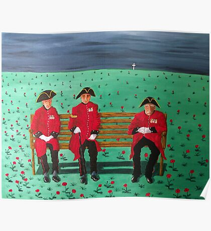 Chelsea Pensioners Poster