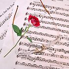 """""""Love is Like a Red Red Rose"""" !! by AnnDixon"""