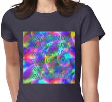 Vaporwave-TRIAL VERSION Womens Fitted T-Shirt