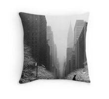 Tudor City Place - 42nd Street - NYC Throw Pillow