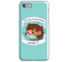 Not a Good Person iPhone Case/Skin