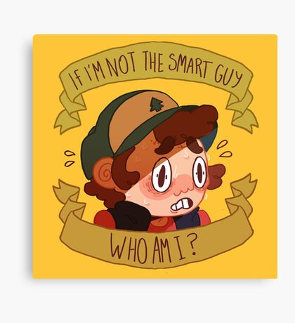Not the Smart Guy Canvas Print