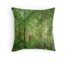 Rainforest - Great Otway National Park Throw Pillow