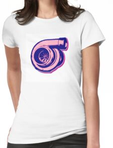 Pinky Turbo  Womens Fitted T-Shirt