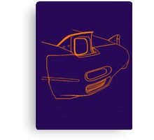 Miata Front End Canvas Print
