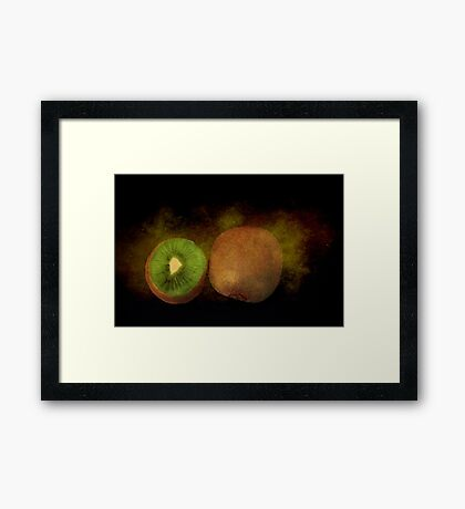 Kiwi Art Framed Print