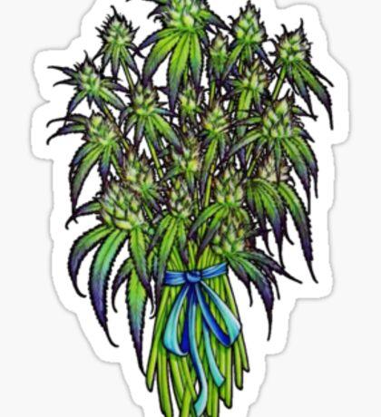 A Bouquet of Flowers Sticker