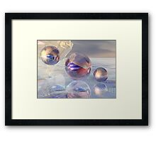 The New North Pole Framed Print