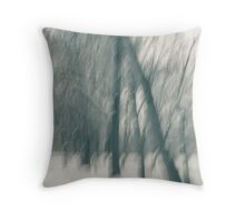 Maples In WInter Throw Pillow