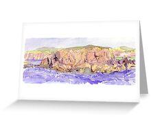 Achiltiebuie- rocky island Greeting Card