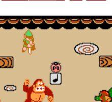 Super Smash Bros. Zero - Stage 1 - Retro Gaming Sticker